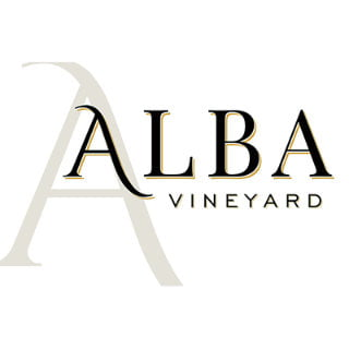 vineyard logo alba vineyard and winery milford new jersey united states ulocal local products local purchase local produce locavore tourist