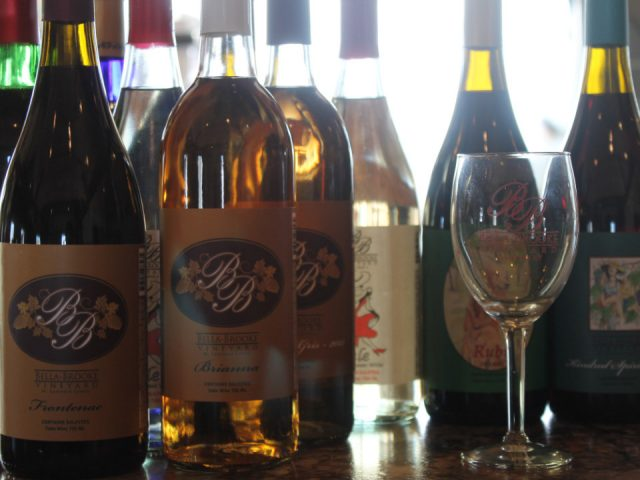 vineyards various bottles of wine from the vineyard bella brooke vineyard hammond new york united states ulocal local products local purchase local produce locavore tourist