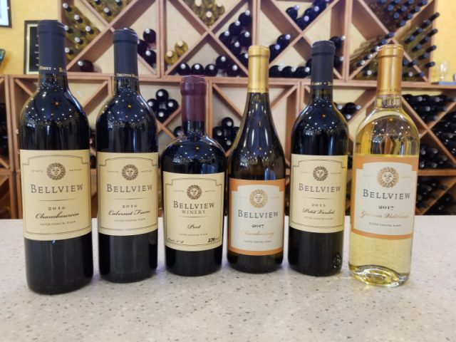 vignoble 6 bouteilles de vins variées bellview winery landisville new jersey united states ulocal produits locaux achat local produits du terroir locavore touriste