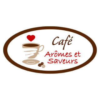 restaurant logo café arômes et saveurs baie-saint-paul la malbaie quebec canada ulocal local products local purchase local produce locavore tourist