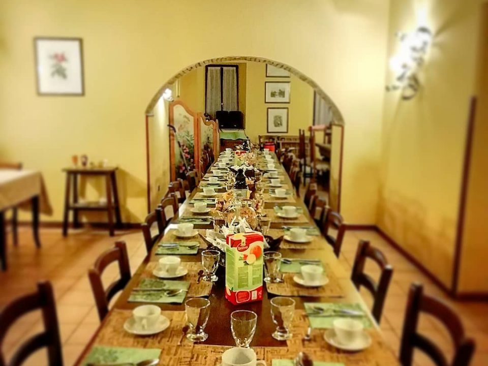 Restaurant food CASA Cantone Bevagna PG Italy ulocal local produce local purchase