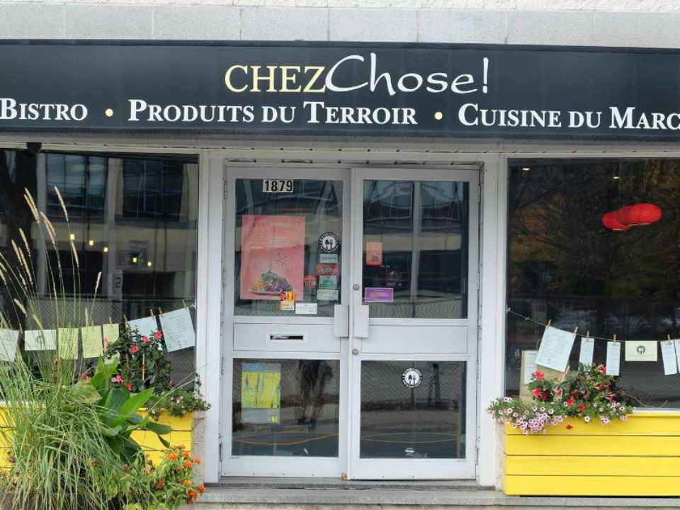 Restaurant food Chez Chose Montreal Quebec Ulocal local product local purchase local product