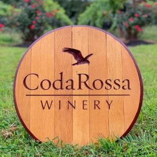 vignoble logo coda rossa winery franklinville new jersey united states ulocal produits locaux achat local produits du terroir locavore touriste