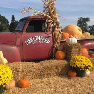 autocueillette logo conklin farm u-pick montville new jersey united states ulocal produits locaux achat local produits du terroir locavore touriste