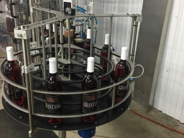 vineyard production and bottling of wine in the factory dimatteo vineyards hammonton new jersey united states ulocal local products local purchase local produce locavore tourist