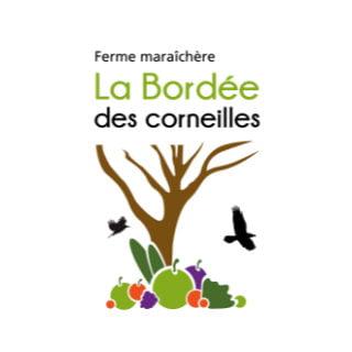 marché de fruits et/ou légumes logo ferme maraîchère la bordée des corneilles baie-saint-paul quebec canada ulocal produits locaux achat local produits du terroir locavore touriste