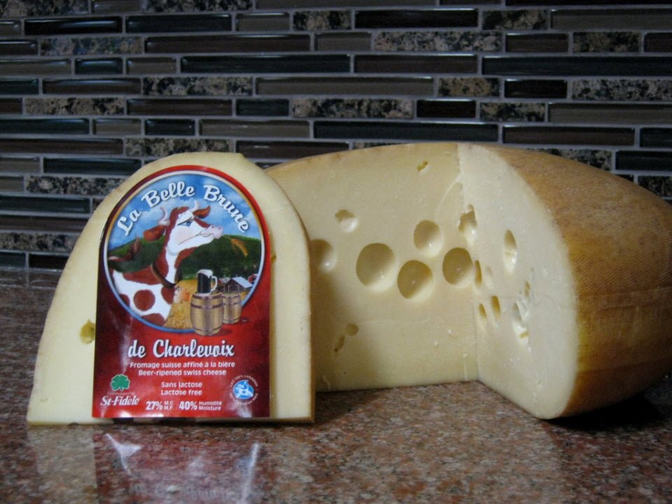 cheese factories Swiss cheese la belle brume refined beer specialty house fromagerie st-fidèle la malbaie quebec canada ulocal local products local purchase local produce locavore tourist