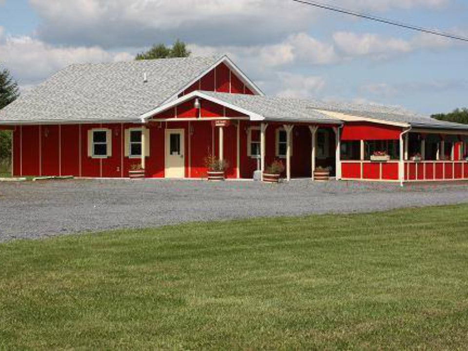 vineyards red building with windows framing yellow winery fruit yard winery dundee new york united states ulocal local products local purchase local produce locavore tourist