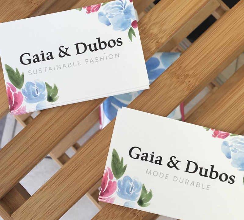 Vêtement femme artisan Gaia & Dubos Québec Ulocal produit local achat local