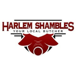 butcher shop logo harlem shambles new york new york united states ulocal local products local purchase local produce locavore tourist