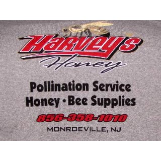 beekeeping logo harveys honey monroeville new jersey united states ulocal local products local purchase local produce locavore tourist