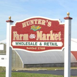 marché de fruits et/ou légumes logo hunters farm market cinnaminson new jersey united states ulocal produits locaux achat local produits du terroir locavore touriste