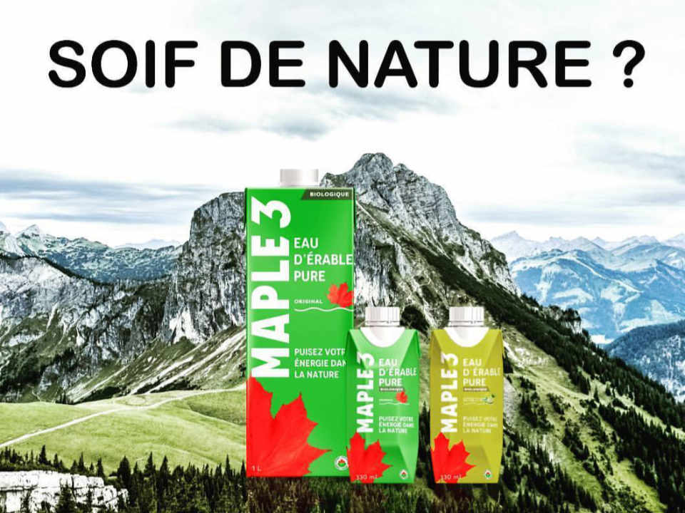 Ecological Organic Maple Moisture Drink Maple 3 Quebec Ulocal Local Product Local Purchase