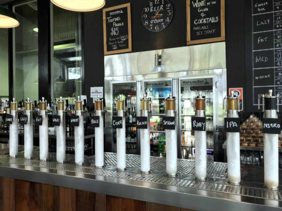 Microbrewery craft beers Matilda Bay Brewhouse Hunter Valley Ulocal local product local purchase