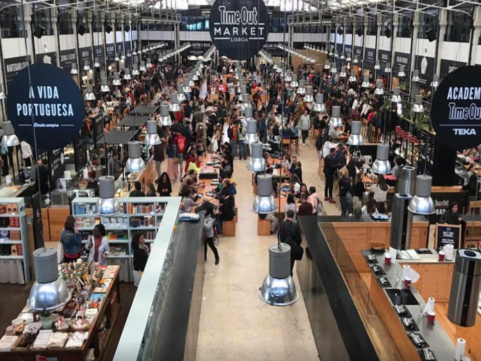 Public Market Mercado da Ribeira Lisboa Portugal Ulocal local product local purchase