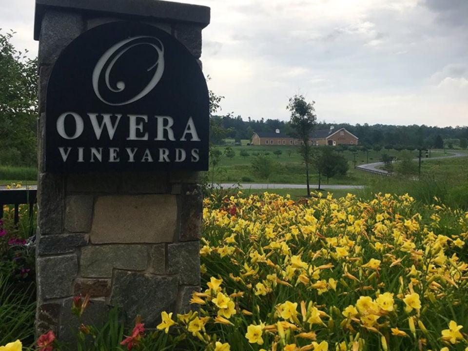 vignoble vue du domaine et de l'enseigne du vignoble owera vineyards cazenovia new york états unis ulocal produits locaux achat local produits du terroir locavore touriste
