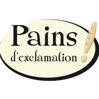 artisan bakeries logo pains d'exclamation la malbaie quebec canada ulocal local products local purchase local produce locavore tourist