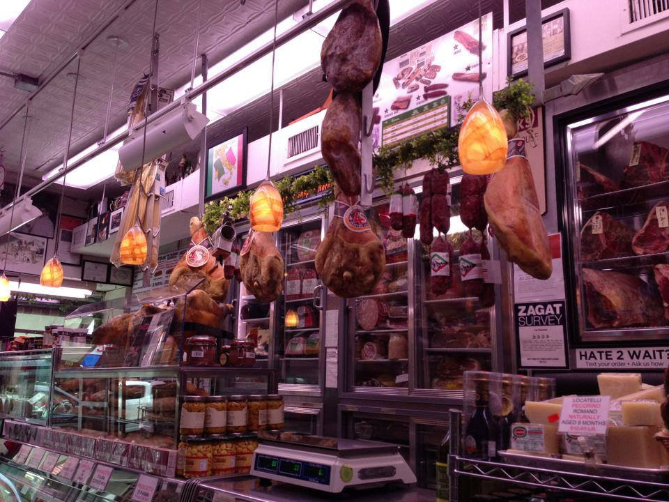 butcher shop fresh prosciutto hanging out paisanos butcher shop brooklyn new york united states ulocal local products local purchase local produce locavore tourist