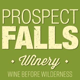 vignoble logo prospect falls winery prospect new york états unis ulocal produits locaux achat local produits du terroir locavore touriste