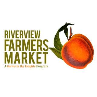 marché public logo riverview farmers market jersey city new jersey états unis ulocal produits locaux achat local produits du terroir locavore touriste