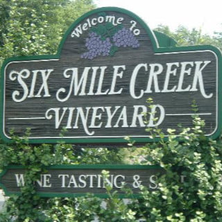 vineyards logo six mile creek vineyard ithaca new york united states ulocal local products local purchase local produce locavore tourist