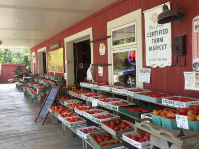produce picking 1744/5000 shelves of freshly picked apples on the front of the market sun high orchards randolph new jersey united states ulocal local products local purchase local produce locavore tourist