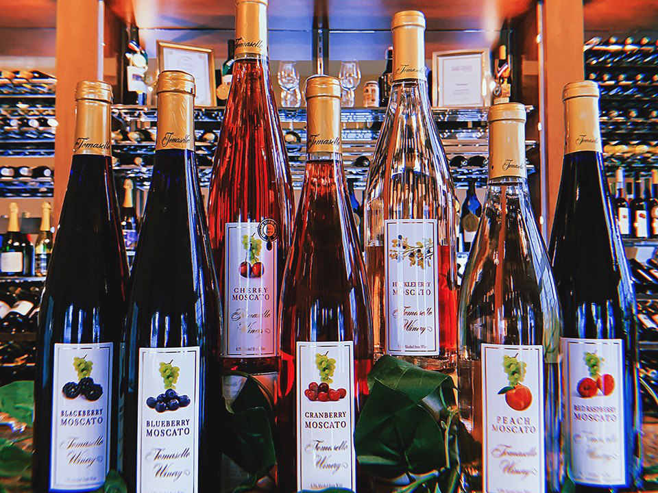 vineyard 2298/5000 various selections of fruit wine directly from the vineyard tomasello winery hammonton new jersey united states ulocal local products local purchase local produce locavore tourist