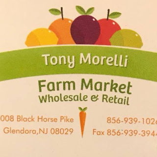produce markets logo tony morellis market glendora new jersey united states ulocal local products local purchase local produce locavore tourist