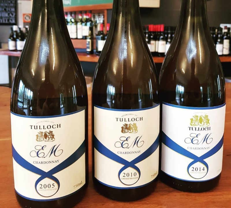 Tulloch Wines Pokolbin Hunter Valley Australie Ulocal produit local achat local