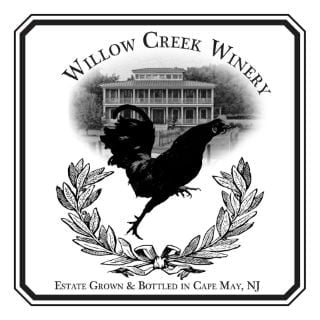 vineyard logo willow creek farm and winery west cape may new jersey united states ulocal local products local purchase local produce locavore tourist