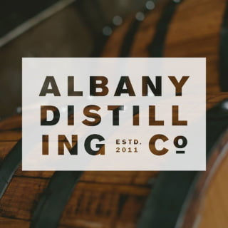 liquor logo albany distilling co albany new york united states ulocal local products local purchase local produce locavore tourist