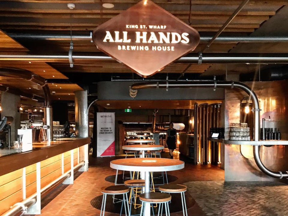 Microbrasserie alcool alimentation All Hands Brewing House Australie Ulocal produit local achat local