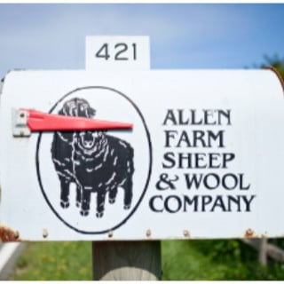 boutique logo allen farm sheep and wool co chilmark massachusetts united states ulocal local products local purchase local produce locavore tourist