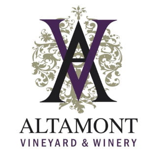 vineyards logo altamont vineyard and winery altamont new york united states ulocal local products local purchase local produce locavore tourist