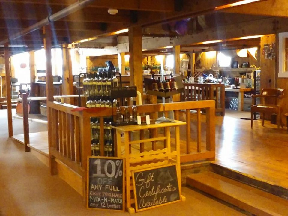 vineyards vineyard shop with lots of woodwork amherst farm winery amherst massachusetts united states ulocal local products local purchase local produce locavore tourist