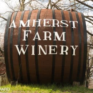 vignoble logo amherst farm winery amherst massachusetts états unis ulocal produits locaux achat local produits du terroir locavore touriste