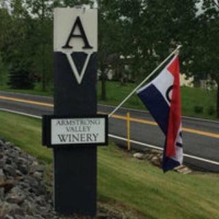 vignoble logo armstrong valley vineyard and winery halifax pennsylvanie états unis ulocal produits locaux achat local produits du terroir locavore touriste