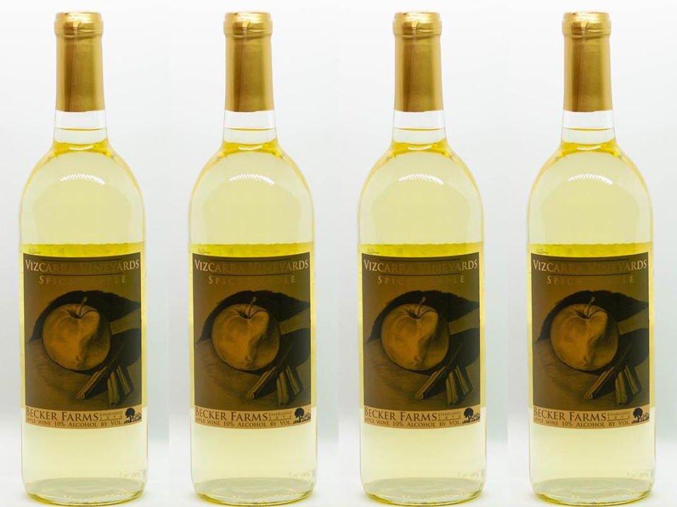 vignoble bouteilles de vin blanc du vignoble becker farms and vizcarra vineyards gasport new york états unis ulocal produits locaux achat local produits du terroir locavore touriste