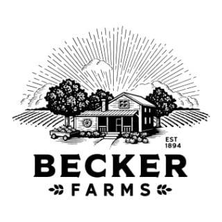 vignoble logo becker farms and vizcarra vineyards gasport new york états unis ulocal produits locaux achat local produits du terroir locavore touriste
