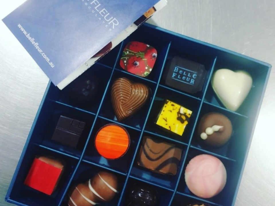 Chocolaterie alimentation Belle Fleur Fine Chocolates Petersham NSW Australie Ulocal produit local achat local