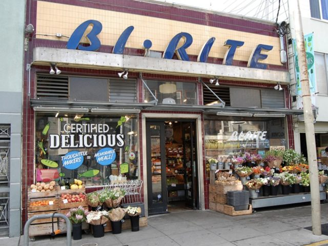 specialty grocery store ecological bi-rite market san francisco california ulocal local product local purchase