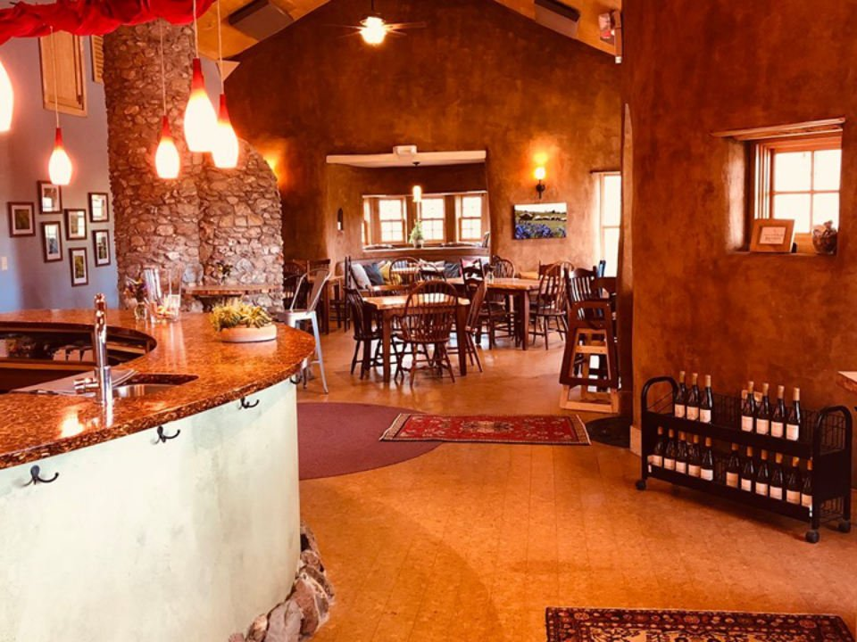 vineyards beautiful warm tasting room with wood paneling and beautiful lighting black ankle vineyards mount airy maryland united states ulocal local products local purchase local produce locavore tourist