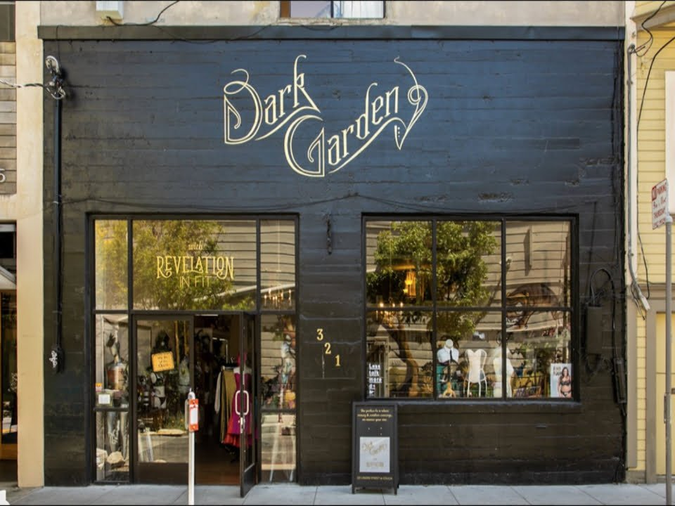 vetements boutique corset dark garden san francisco californie ulocal produit local achat local