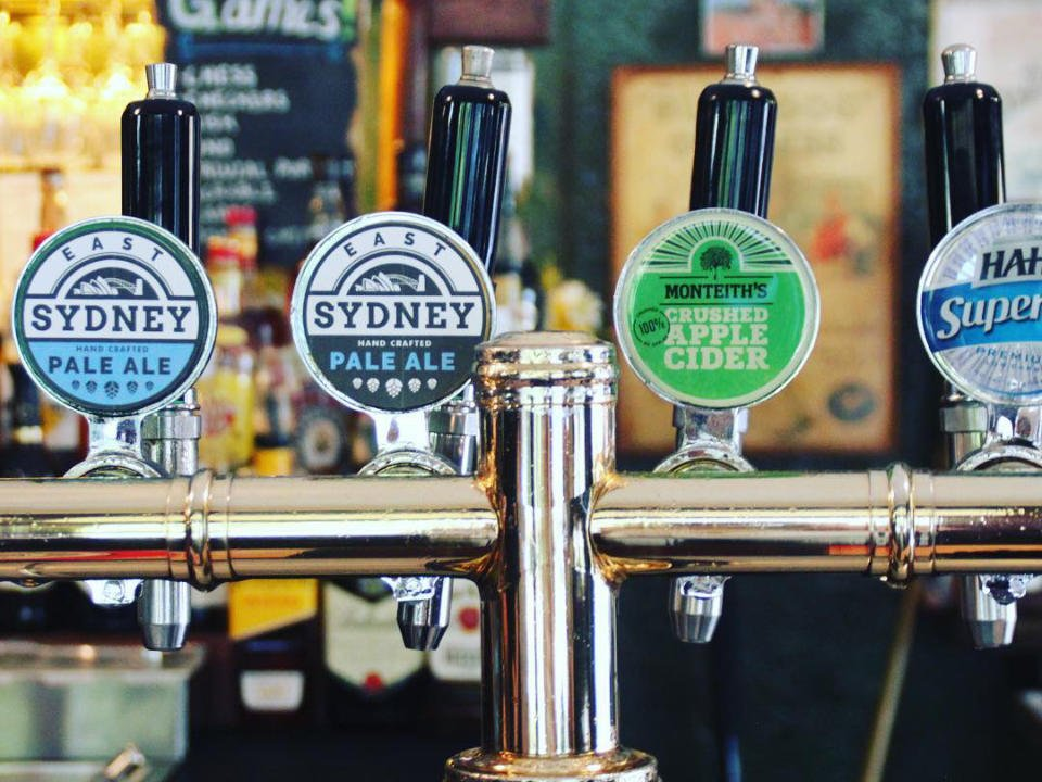 Microbrasserie alimentation alcool East Sydney Brewing Co Woolloomooloo Australie ulocal produit local achat local