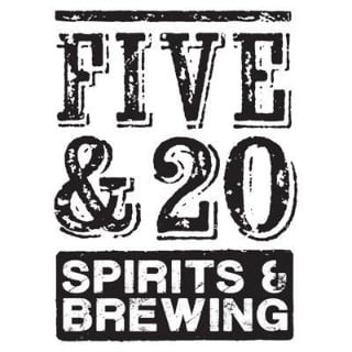 liquor logo five and 20 spirits and brewing westfield new york united states ulocal local products local purchase local produce locavore tourist