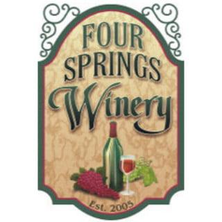 vignoble logo four springs winery seven valleys pennsylvanie états unis ulocal produits locaux achat local produits du terroir locavore touriste