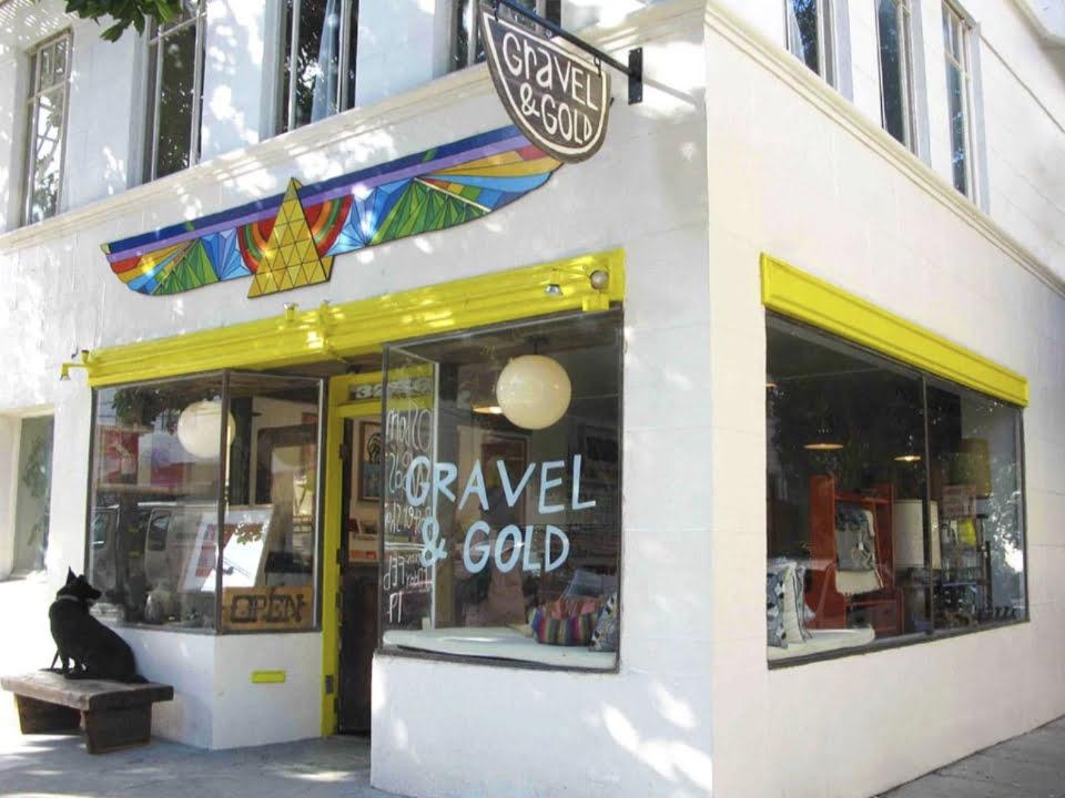 boutique vetements decoration gravel & gold san francisco californie ulocal produit local achat local
