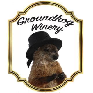 vineyards logo groundhog winery punxsutawney pennsylvania united states ulocal local products local purchase local produce locavore tourist