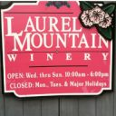 vineyards logo laurel mountain winery falls creek pennsylvania united states ulocal local products local purchase local produce locavore tourist