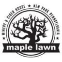 vineyards logo maple lawn winery and cider house new park pennsylvania united states ulocal local products local purchase local produce locavore tourist